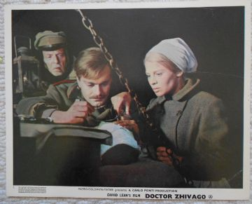 Doctor Zhivago, Original Movie Still, Omar Sharif, Julie Christie, David Lean 65